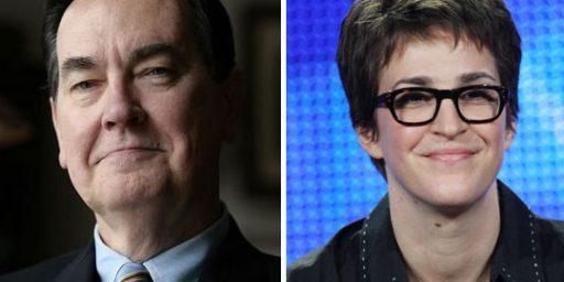 Cal Thomas, Rachel Maddow, and Civility