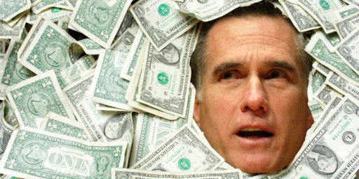 Mitt Romney Is Not Running Out of Money