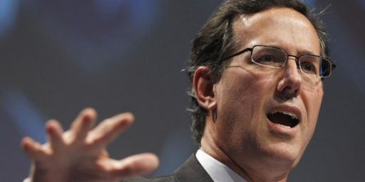 Santorum: People May As Well Vote For Obama If Romney Is The Nominee