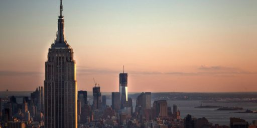 World Trade Center Once Again Will Be The Tallest Building In New York