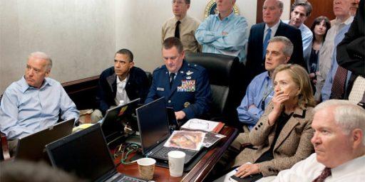 Obama Spikes Football on Bin Laden Killing