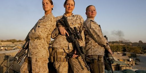 Women to Attend Marine Infantry School
