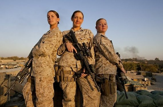 female-marines