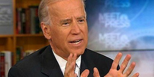 Joe Biden Appears To Back Gay Marriage, White House Walks it Back