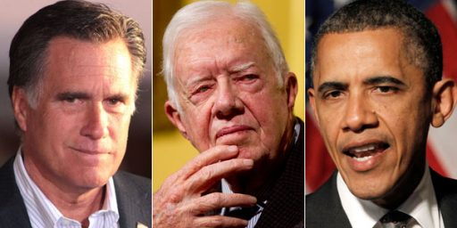 Is Mitt Romney Running Against Barack Obama, Or Jimmy Carter?