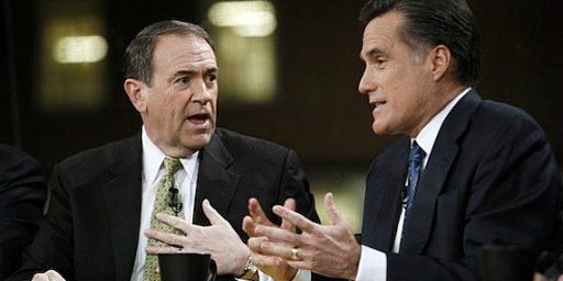 Romney/Huckabee 2012?