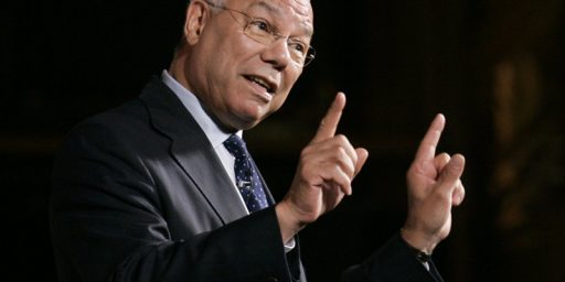 Colin Powell and Political Opportunism