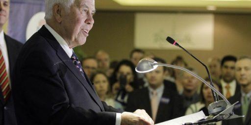 Dick Lugar Victim of Dick Lugar, Not Tea Party