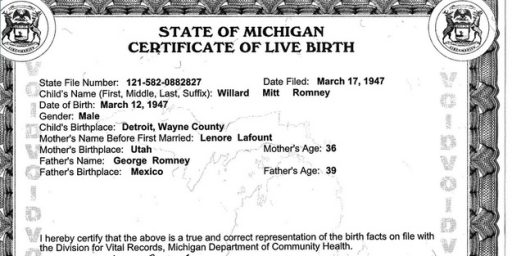 Arizona Secretary Of State: Nah, I Don't Need To See Romney's Birth Certificate