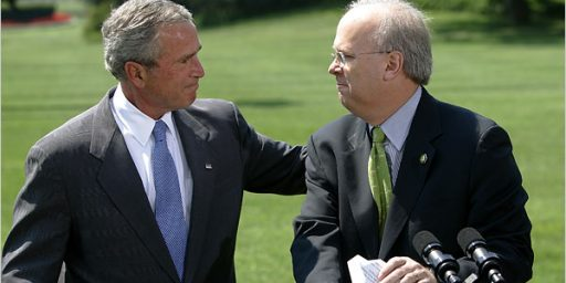 Karl Rove Suddenly Discovers That The National Debt Is A Problem