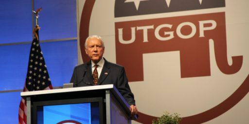 Orrin Hatch Maintains Huge Lead Ahead Of Utah Primary