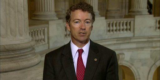 "Rand Paul Trying To Add ""Personhood"" Amendment To Flood Insurance Bill"