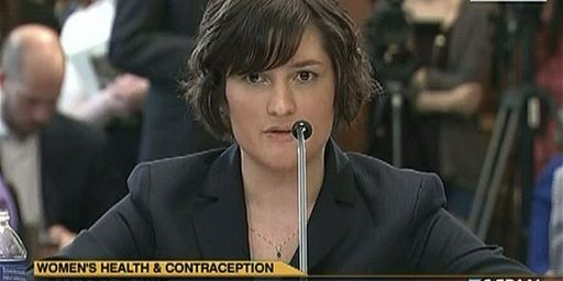 Sandra Fluke Not So Much A Fan Of Free Speech, Apparently
