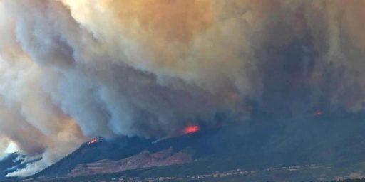 Colorado Fire Threatens Air Force Academy