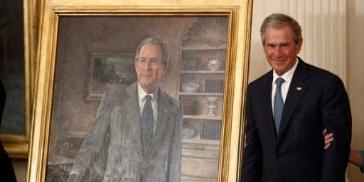 George W. Bush Portrait Unveiled