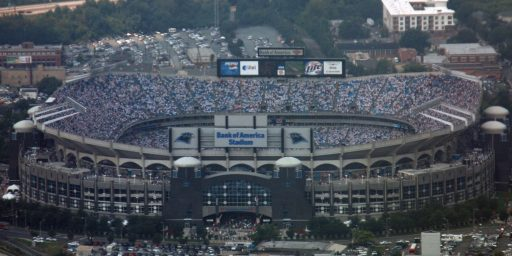 """Democrats Afraid To Call """"Bank Of America Stadium"""" By Its Proper Name"""