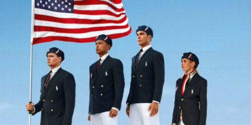 U.S. Olympic Team Uniforms Made In China. So What?