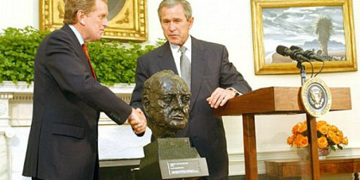 Churchill Bust Mystery Solved: There Are Two Of Them!