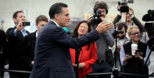 Romney Bans Press From Private Fundraiser; Press Upset
