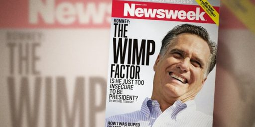 Romney Wimp Factor: Newsweek's Tired Trope
