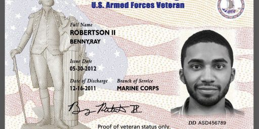 Virginia Veterans ID Card