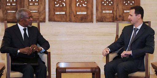 Kofi Annan Resigns As U.N. Peace Envoy To Syria