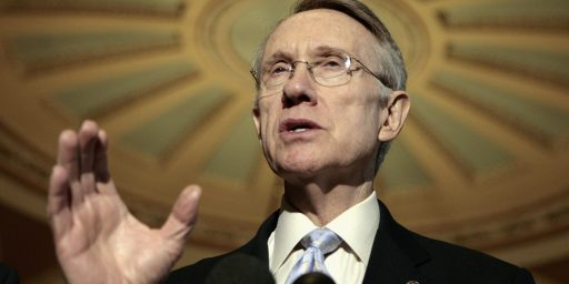 Harry Reid Should Be Condemned, Not Lauded