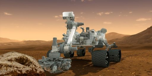 Mars Curiosity Rover Readies For Arrival On Mars