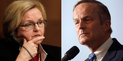 Todd Akin Within One Point Of Claire McCaskill In New Poll