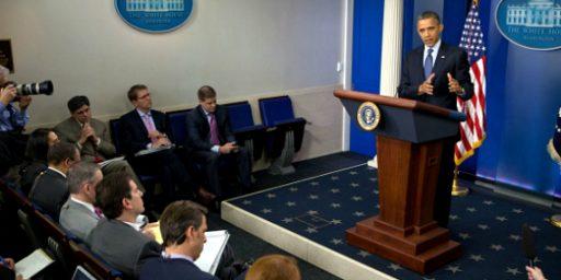 White House Press Corps Bristles As Obama Limits Access