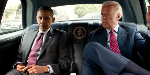 "Time For Another Round Of Pointless ""Will Obama Dump Biden?"" Speculation"