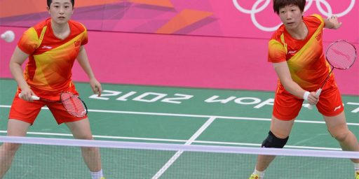Olympic Badminton Players Disqualified For Cheating To Lose