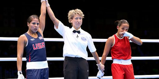 Cover Girl Model Wins Olympic Boxing Match
