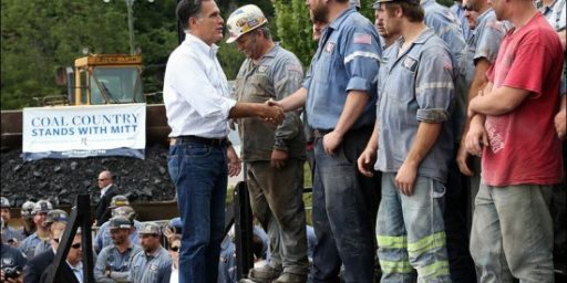 Romney Mine Visit Cost Miners a Day of Pay