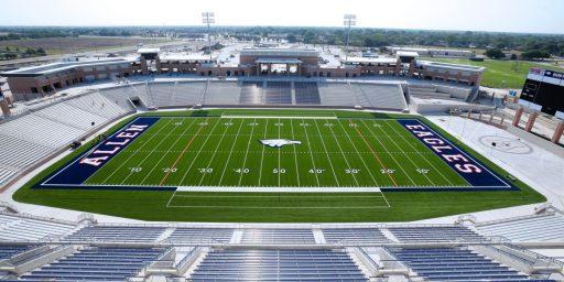 Texas High School Builds $60 Million Football Stadium