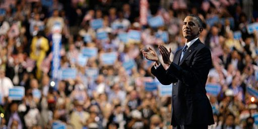 In Closing Speech, Obama Does What He Needed To Do