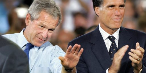 Romney, And The GOP, Still Haunted By The Legacy Of George W. Bush