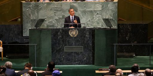 President Obama Capitulates On Freedom Of Speech Before The United Nations