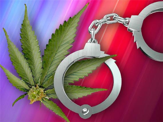 marijuana-handcuffs