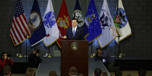 Even After Big Speech, Romney's Foreign Policy Remains Vague