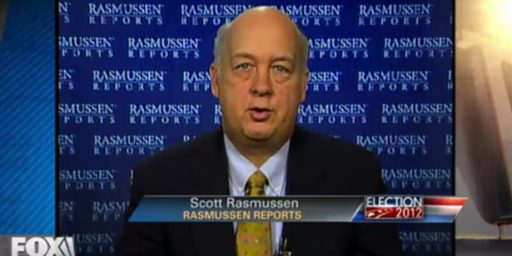 Rasmussen's 2012 Polling Has Had A Republican Bias All Year