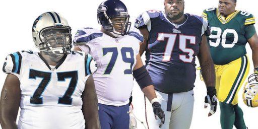 New Jerseys Make NFL Lineman Feel Fat