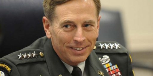 Petraeus Debunks Petraeus Conspiracy Theories