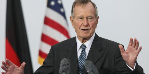 President Bush 41 Out of Intensive Care