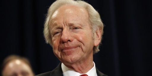 Joe Lieberman For F.B.I Director?