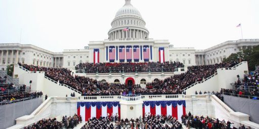 Time To Scale Back The Inaugural Pomp And Circumstance?