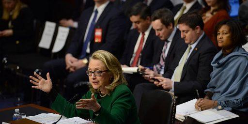 GOP Swings And Misses At Clinton Benghazi Hearings