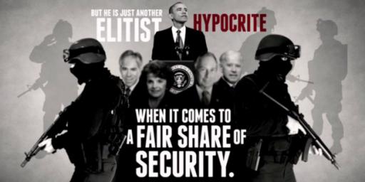 NRA Calls Obama 'Elitist Hypocrite' in New Ad