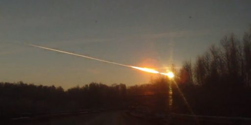 Meteorite Strikes Central Russia, Up To 500 Injured
