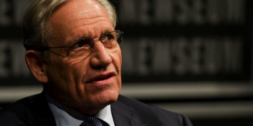 Bob Woodward's 'White House Threatened Me' Grandstanding